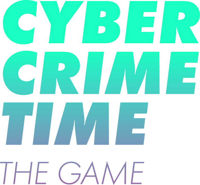 Cyber Crime Time e-learning content icon logo