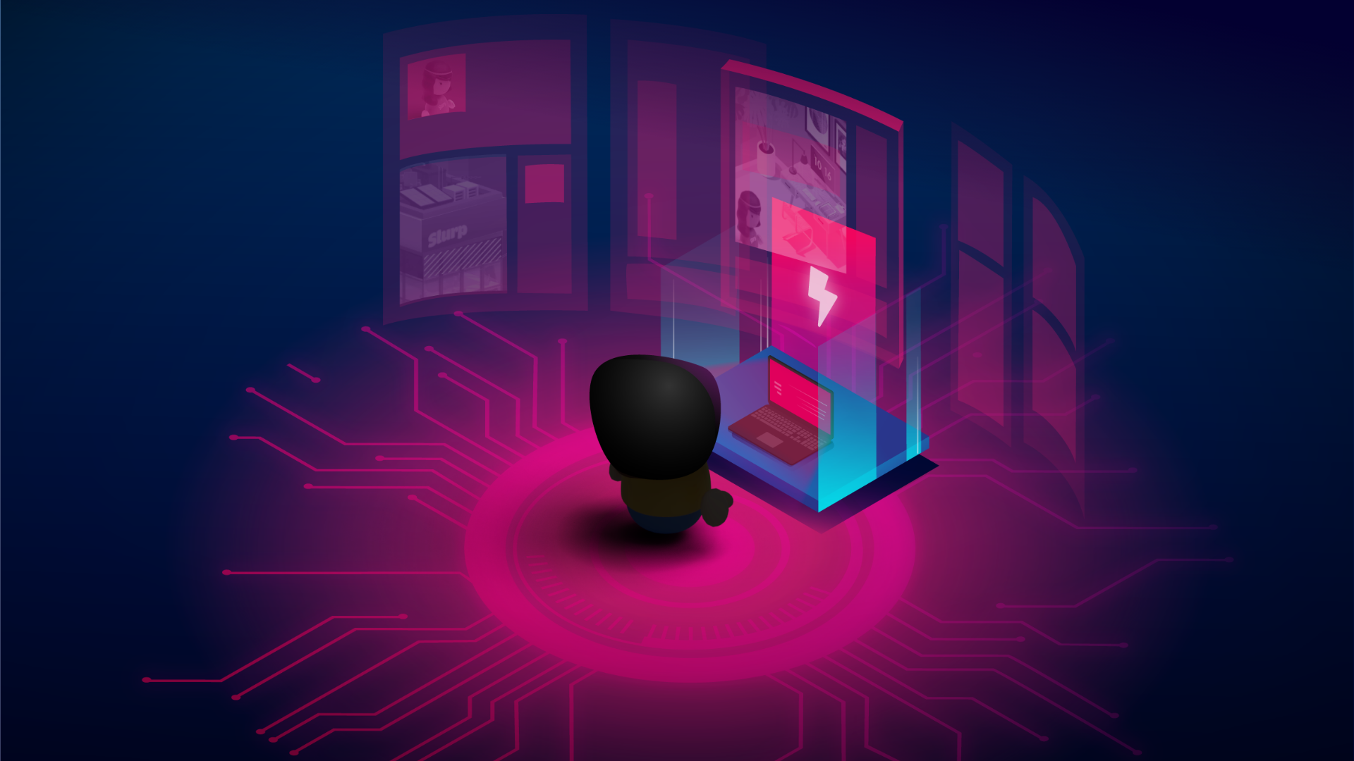 Cyber Crime Time e-learning content header