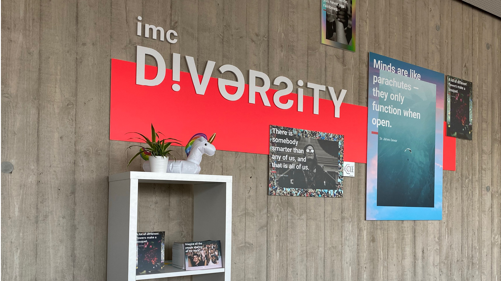 Diversity wall, featured image