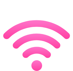 Cyber Crime Time E-Learning Icon WLAN